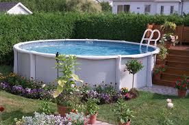 Above Ground Pool Design Ideas Swimming Pool Above Ground Swimming Pool Round Design Of Pool