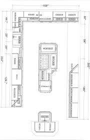 size of kitchen island kitchen island size home design