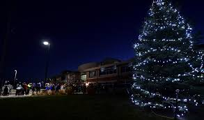 team buckley kicks off holiday season with annual tree lighting