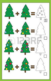 Decorate Christmas Tree Worksheet by Coloring Page With Christmas Tree Color By Numbers Task