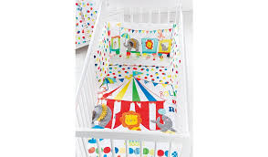 Circus Crib Bedding George Home Circus Quilt Bumper Baby Bedding George At Asda