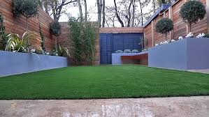 Garden Walls And Fences by Artificial Grass Tile Grey Lour Scheme Walls Fence Planting