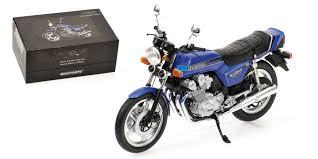 honda 900 honda cb 900 f bol d or 1978 blue minichamps motociclo
