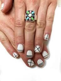 nails with gold ornament nails nails