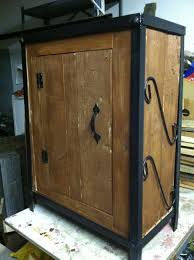 Old Wooden Furniture Old Wood Pallets Used As Cabinet With Old Fish Tank Stand As Metal