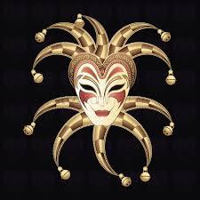 venetian jester mask venetian jester mask vector image 1508830 stockunlimited