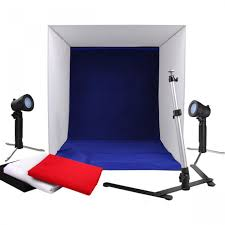 Photography Studio Portable Light Tent Photo Studio Set With Lighting 60 X 60 Cm 250