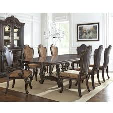 silver grey dining room chairs table leaf set steve espresso