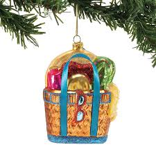 bag blown glass ornament all about flip flops