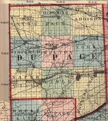 Map Of Indiana And Illinois by Du Page County Illinois Maps And Gazetteers