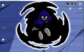 teen titans raven desktop mirage426 deviantart