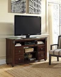 ashley furniture tv stand fireplace insert dark wood loversiq