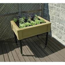 Planter With Legs by Fixed Leg Raised Garden Table Planter Box By Rts U2013 Aquagarden