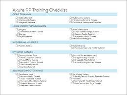 training checklist templates find word templates