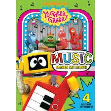 yo gabba gabba music move dvd yo gabba gabba books