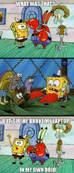 Tough Spongebob Meme - my first spongebob meme ever by darthhayze on deviantart