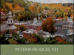 Map Of Boston Attractions by Maps Peterborough Nh Economic Development