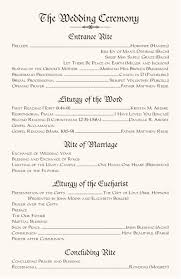 exles of wedding program wedding reception ceremony order 28 images kaiser s wedding