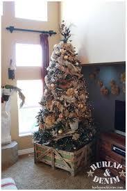 tree burlap tree tree
