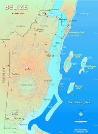 Diego Garcia Map Maps Of Belize