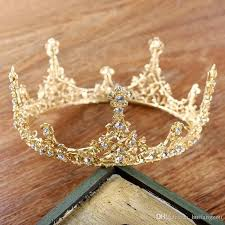 prom accessories uk baroque vintage king large gold color prom king