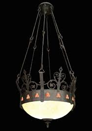 Hanging Light Fixtures by Antique Gothic Hanging Church Pendant Light Fixture