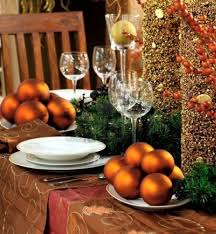 Easy Simple Christmas Table Decorations Mesmerizing And Simple Christmas Table Decoration Introducing Nice