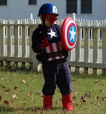 Captain America Halloween Costumes 24 Diy Halloween Costumes Kids Captain America