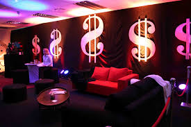 interior design simple casino themed party decorations decor