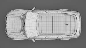 range rover drawing range rover svautobiography dynamic 2017 3d model vehicles 3d