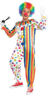 clown costume create your own boys clown costume accessories party city