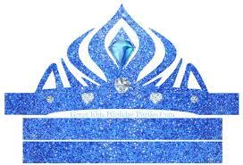 6 images printable frozen tiara frozen elsa crown