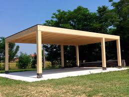 tettoia legno auto tettoie in legno per auto carport autocover
