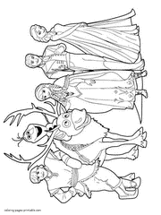 frozen characters coloring pages free murderthestout