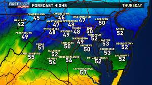Show Me The Weather Map Washington Dc Weather On Wusa9 In Washington Dc