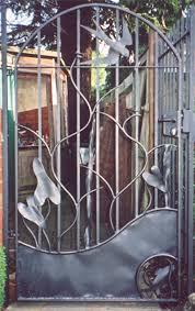 iron garden gates design home outdoor decoration