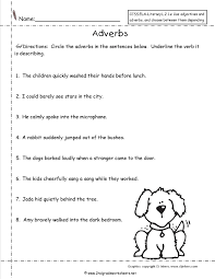 Adjectives That Compare Worksheets Worksheet Free Using Adjectives And Adverbs Worksheets