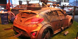 zombie survival truck best of the 2014 chicago auto show