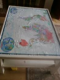 topography coffee table mod podged map fail now with topography craftfail