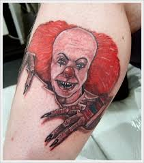 cool and amazing clown tattoo designs
