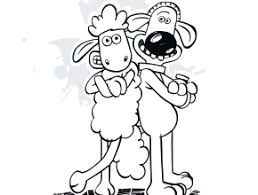 sheep coloring print free coloring today takewill