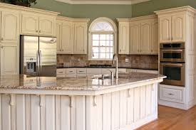 Contemporary Chalk Painted Kitchen Cabinets Finished Painting - Painting kitchen cabinets white with annie sloan chalk paint