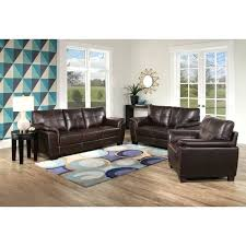 living room brown brown and turquoise living room set brown leather 3 piece