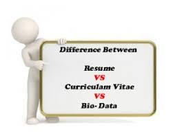 What Difference Between Resume And Cv Difference Between Resume Cv U0026 Bio Data Samples Latest Format Pdf