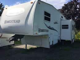 2005 homestead fifth wheel bunkhouse 290 bhs by starcraft winter
