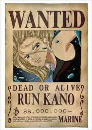 12 one piece wanted poster templates u2013 free printable sample