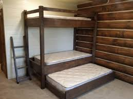 Bunk Beds With Trundle Bunk Beds Twin Bunk Beds With Trundle How To Make A Loft Bed