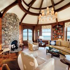 home designer pro fireplace 7 homes with rustic stone fireplaces photos architectural digest
