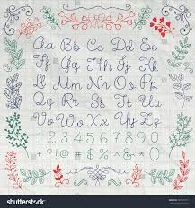 writing paper texture hand drawn english alphabet letters numbers stock vector 322671077 hand drawn english alphabet letters numbers and symbols on crumpled notebook paper texture education