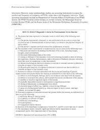 5 posttraumatic stress disorder gulf war and health volume 6